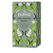 Pukka Herbs Lean Matcha Green Tea 20 sachet