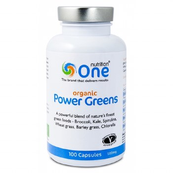 One Nutrition Organic Power Greens  100 caps