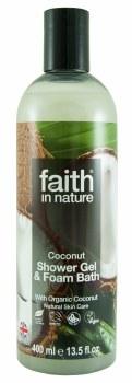Faith in Nature Coconut Foam Bath 400ml