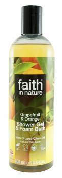 Faith in Nature Grapefruit&Orange Foam Bath 400ml