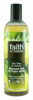 Faith in Nature Lemon & Tea Tree Shower Gel 400ml