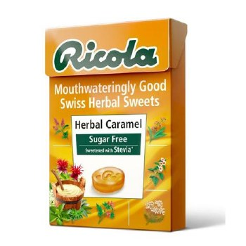 Ricola Herbal Caramel Box 45g