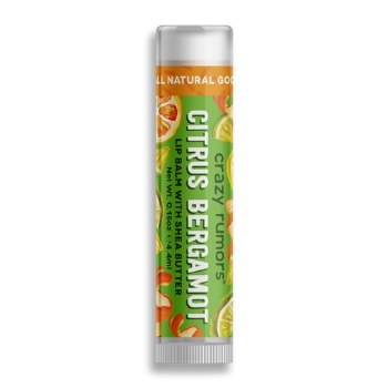 Crazy Rumors Citrus Bergamot Vegan Lip Balm 4ml