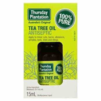 Thursday Plantation Teatree Tea Tree Oil 100% Pure 10 ml