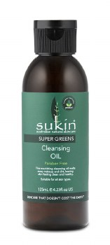 Sukin Supergreen Cleansing Oil 125ml