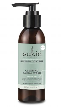 Sukin Blemish Clearing Facial Wash 125ml