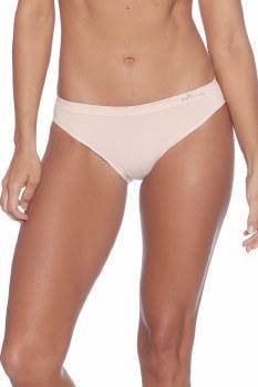 Boody Organic Bamboo Eco Wear Women's Classic Bikini -Nude Small (UK Size 8-10)
