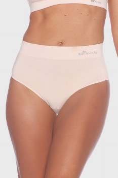 Boody Organic Bamboo Eco Wear Women's Full Brief- Nude Extra Large
