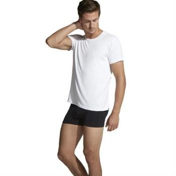 "Boody Organic Bamboo Eco Wear Men's Crew Neck T-Shirt White Extra Lge 106-111CMS (42-44"")"