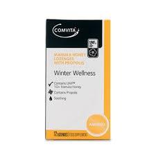 Comvita Winter Wellness Lozenges Anis 12 lozenges