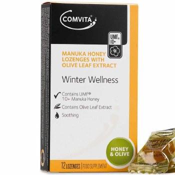 Comvita Olive Leaf Complex Lozenges 12 lozenges