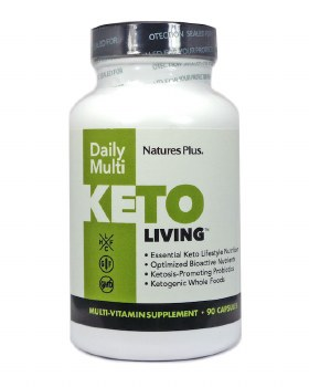 Nature's Plus KETOLIVING DAILY MULTI VCAP  90