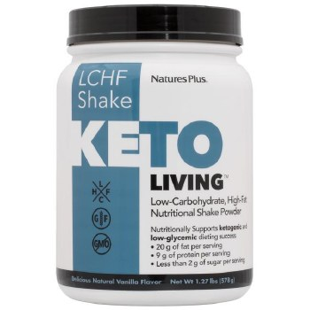 Nature's Plus KETOLIVING VANILLA KETO SHAKE  578
