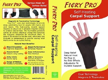 Fiery Pro Fiery Pro Carpal Support