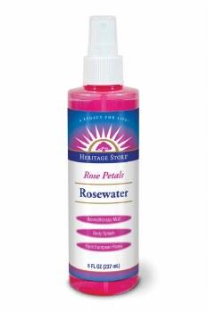 Heritage Store Rosewater w/Atomizer 240ml