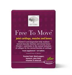 New Nordic Free to move 60 tablet