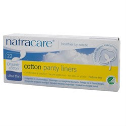 Natracare Org Cotton Pantyliners Ul Thin 22pieces