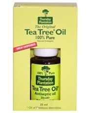 Thursday Plantation Teatree Tea Tree Oil 100% Pure 25ml
