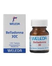 Weleda Belladonna 30c 125 tablet