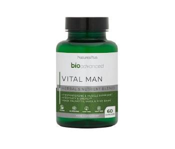 Natures Plus BioAdvanced Vital Man 60