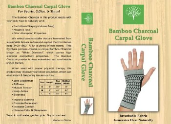 Healing Bamboo Carpal Support XS Extra Small