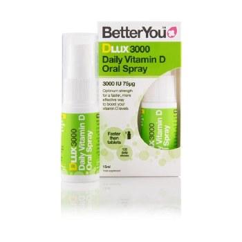 BetterYou D Lux 3000 Oral Vit D3 Spray 15ml