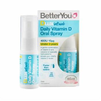 BetterYou D Lux Infant Vit D Oral Spray 15ml
