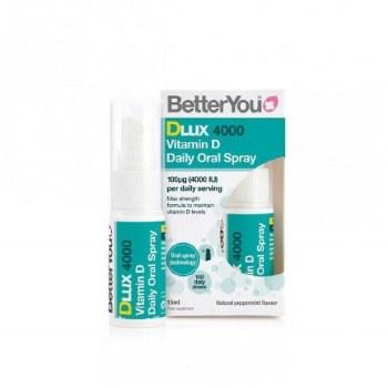 BetterYou Dlux 4000iu Oral Spray 15ml