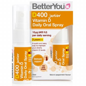 BetterYou DLux Junior Vitamin D Spray 15ml