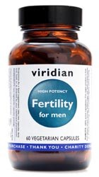 Viridian Fertility for Men  60 caps