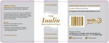 Healtharena Inulin Powder 300gm