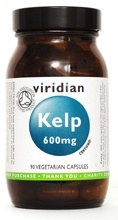 Viridian Kelp 600mg 90 Veg caps 90 caps