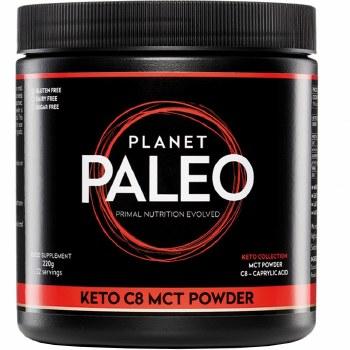 Planet Paleo Keto C8 MCT Powder  220g
