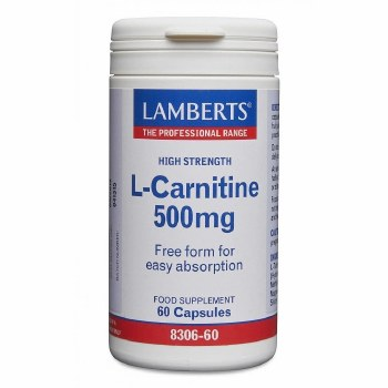Lamberts L-Carnitine 500mg 60