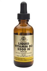 Solgar Vitamins Liquid Vit D3 2500 iu 59 ml
