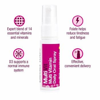 BetterYou MultiVit Oral Spray 25ml
