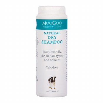 MooGoo Natural Dry Shampoo 100g