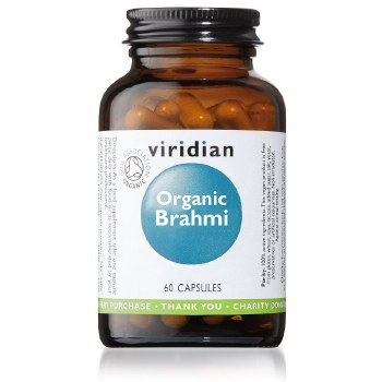 Viridian   Organic Brahmi  60 VCaps