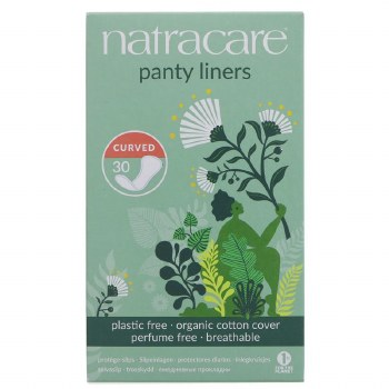 Natracare Panty shields - Curved 30pieces
