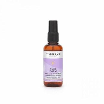 Tisserand Real Calm Massage & Body Oil 100ml