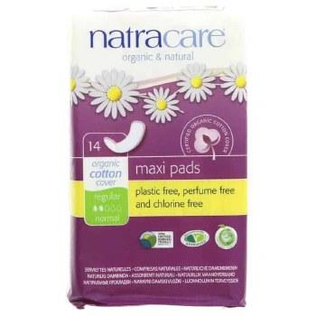Natracare Regular press-on Towels 14pads