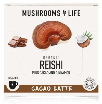 Mushrooms 4 Life Cordyceps Adaptogen Coffee Box 10 Sachets
