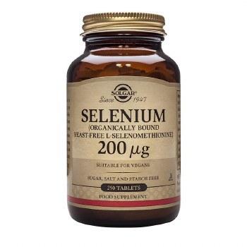 Solgar Vitamins Selenium 200ug (Yeast Free) 250 Tabs