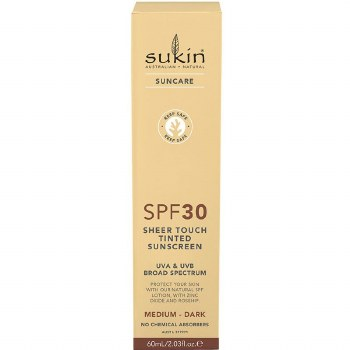 Sukin SPF30 Tinted Sunscreen 60ml