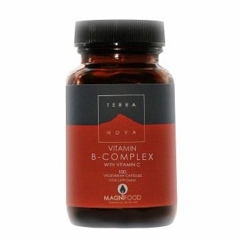 TerraNova Nutrition B-Complex w/Vitamin C   100 vcaps
