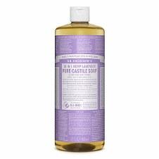 Dr Bronner's Magic Soap Org Lavender Castile Soap 946 ml