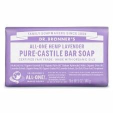 Dr Bronner's Lavender Soap Bar   140g