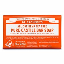 Dr Bronner's Magic Soap     Tea Tree Soap Bar   140g