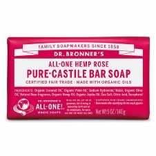 Dr Bronner's Magic Soap Rose Soap Bar   140g