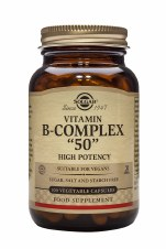 Solgar Vitamins Vitamin B Complex '50' 100 vcaps